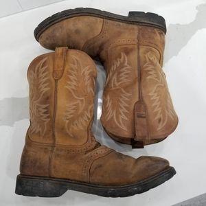 Ariat Men's Sierra Saddle Work Boot  Size 15D